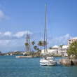 Waterfront St. George's, Bermuda — Stock Photo #7990694