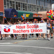Halifax Gay Pride Parade — Stock Photo