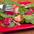 Spinach Strawberry Salad — Stock Photo #8350812