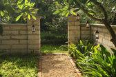 Lantern Garden — Stock Photo