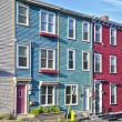 St. John's, Newfoundland Houses — Stock Photo