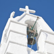 Mykonos Church Bell - Stock Photo