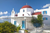 Mykonos Chapel — Stock Photo