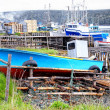Stock Photo: Newfoundland Fishing Boats