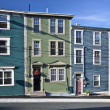 Stock Photo: Houses in St. John's, Newfoundland