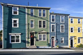 Houses in St. John's, Newfoundland — Stock Photo