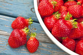 Farm Fresh Strawberries — Stockfoto