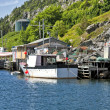 Newfoundland Fishing Boats — Stock Photo