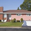 Sixties Era Bungalow - Stock Photo