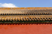 Traditional chinese roof detail — Stock Photo