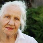 Elderly woman — Stock Photo #10457191