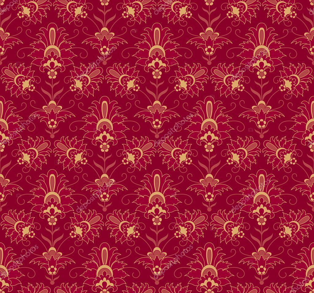 sans soudure fond fleuri vintage image vectorielle artanika 10503335. Black Bedroom Furniture Sets. Home Design Ideas