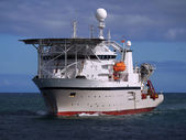 Offshore Diving Ship A — Stock Photo