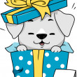 Dog Gift - Stock Photo