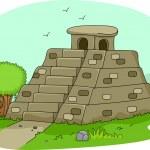 Mayan Pyramid — Stock Photo