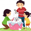 Dog Bath — Stock Photo #10118013
