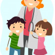 Pediatrician - Stockfoto