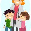 Pediatrician — Stock Photo #10118036