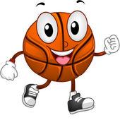 Basketball Mascot — Stock Photo