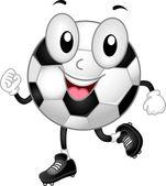 Soccer Ball Mascot — Stock Photo