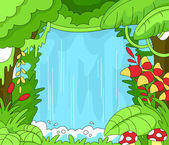 Rainforest Scene — Stock Photo