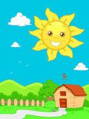 Sunny Scene — Stock Photo