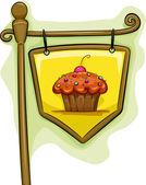 Cupcake Signage — Stock Photo