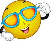 Sunglasses Smiley — Stock Photo