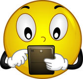 Techie Smiley — Stock Photo
