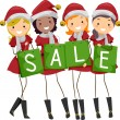 Christmas Sale - Foto Stock
