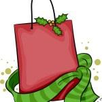 Christmas Shopping Bag — Stock Photo #8137599