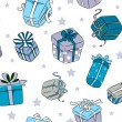 Christmas Gifts Background - Foto Stock