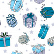 Christmas Gifts Background — Lizenzfreies Foto