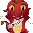 Dragon New Year - Stock Photo