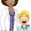 Doctor and Patient — Stock Photo #8585866