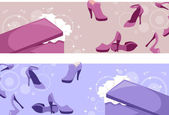 Shoe Header — Stock Photo