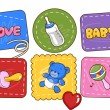 Baby Patches — Stock Photo
