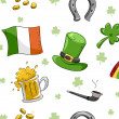 St. Patrick's Day Background — Stok fotoğraf
