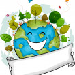Happy Earth — Stock Photo