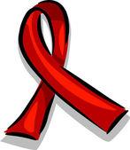 Fita de sensibilização sida — Foto Stock