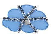 Cloud Data Security — Stock Photo
