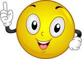 Aha! Smiley — Stock Photo