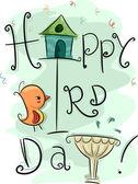 Giorno di uccello — Foto Stock