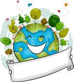 Happy Earth — Stock Photo