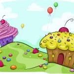 Постер, плакат: Cupcake Land