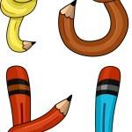Pencil Alphabet — Stock Photo #9548860