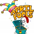 April Fools' Day — Stockfoto