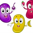 Jellybean Mascot - Stock Photo