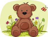 Niedźwiedź liści — Zdjęcie stockowe
