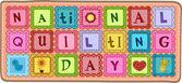 Nationella quiltning dag — Stockfoto